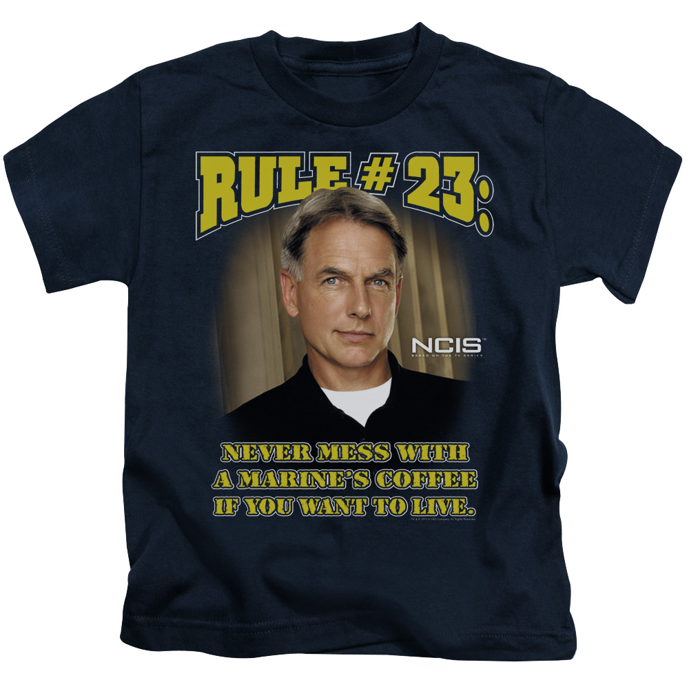 NCIS Rule 23 Little Boys Shirt