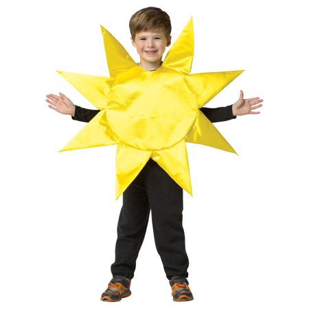 Homemade Sun Costume (Sun Child Halloween Costume, One Size,)