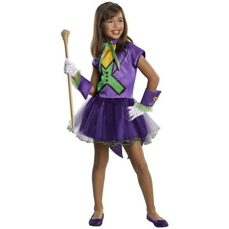 Girl Villain Costume Ideas (dc super villain collection joker girl's costume with tutu dress,)
