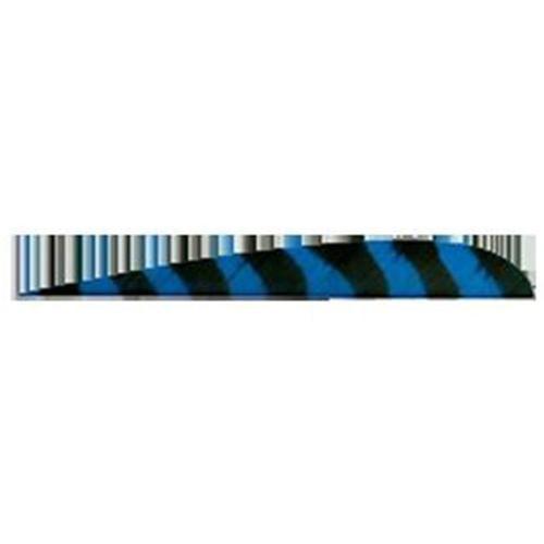 Trueflight Mfg Co FB4104 4 inch Blue Bar Rw Truflight Feather