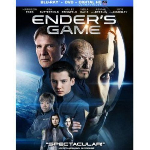 Ender's Game (Blu-ray + DVD + Digital HD) (With INSTAWATCH) (Widescreen)