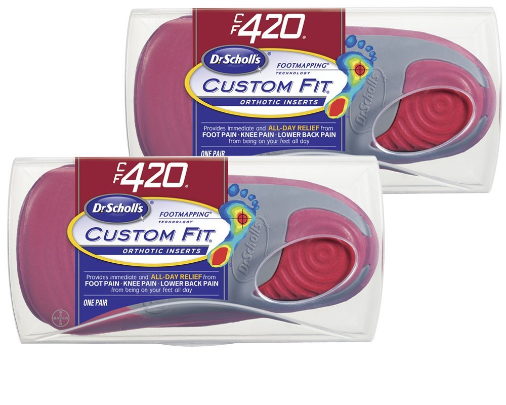 Dr. Scholl's Custom Fit Orthotics CF420, 1 Pair by Bayer Healthcare LLC