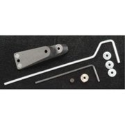 375 Tail Wheel Bracket .40 Size by Dubro Products