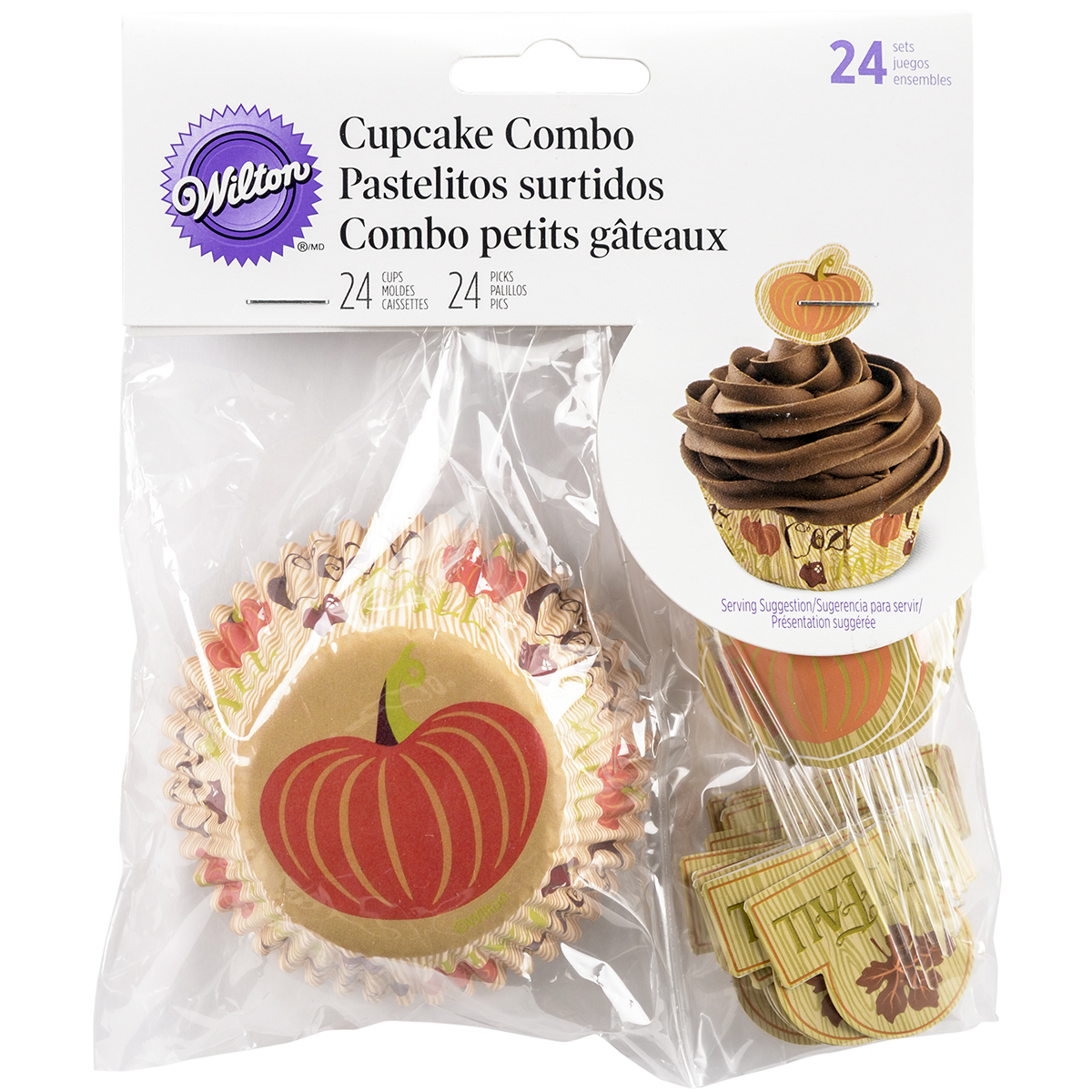 Wilton Cozy Fall Cupcake Decorating Kit