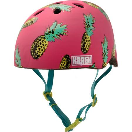Krash! Pina Party Youth Multisport Helmet Pink