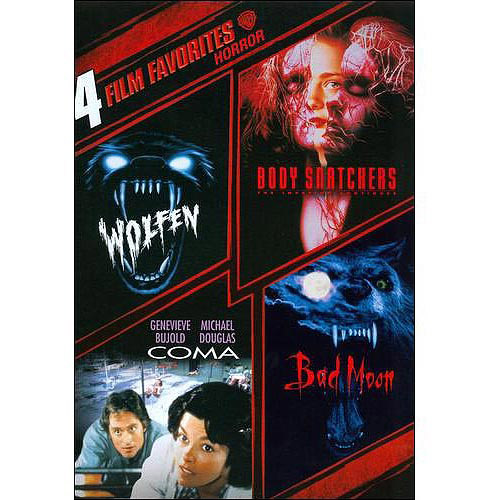 4 Film Favorites: Horror - Wolfen / Body Snatchers / Coma / Bad Moon