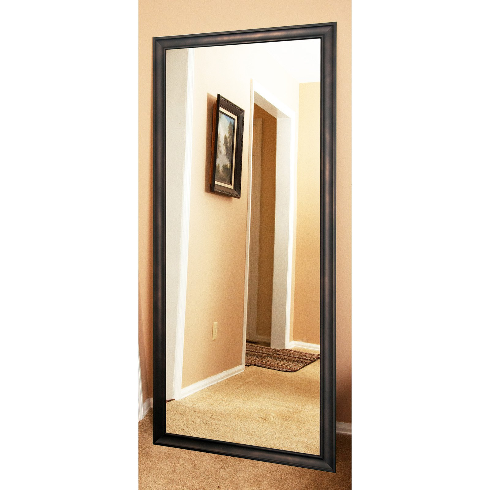 BrandtWorks American Accent Clouded Leaning Floor Mirror by BrandtWorks