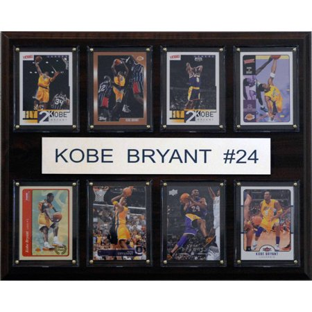 C Collectables Nba 12X15 Kobe Bryant Los Angeles Lakers 8 Card Plaque