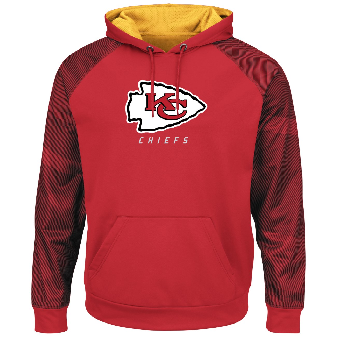 "Kansas City Chiefs Majestic NFL ""Armor 2"" Men's Pullover Hooded Sweatshirt"