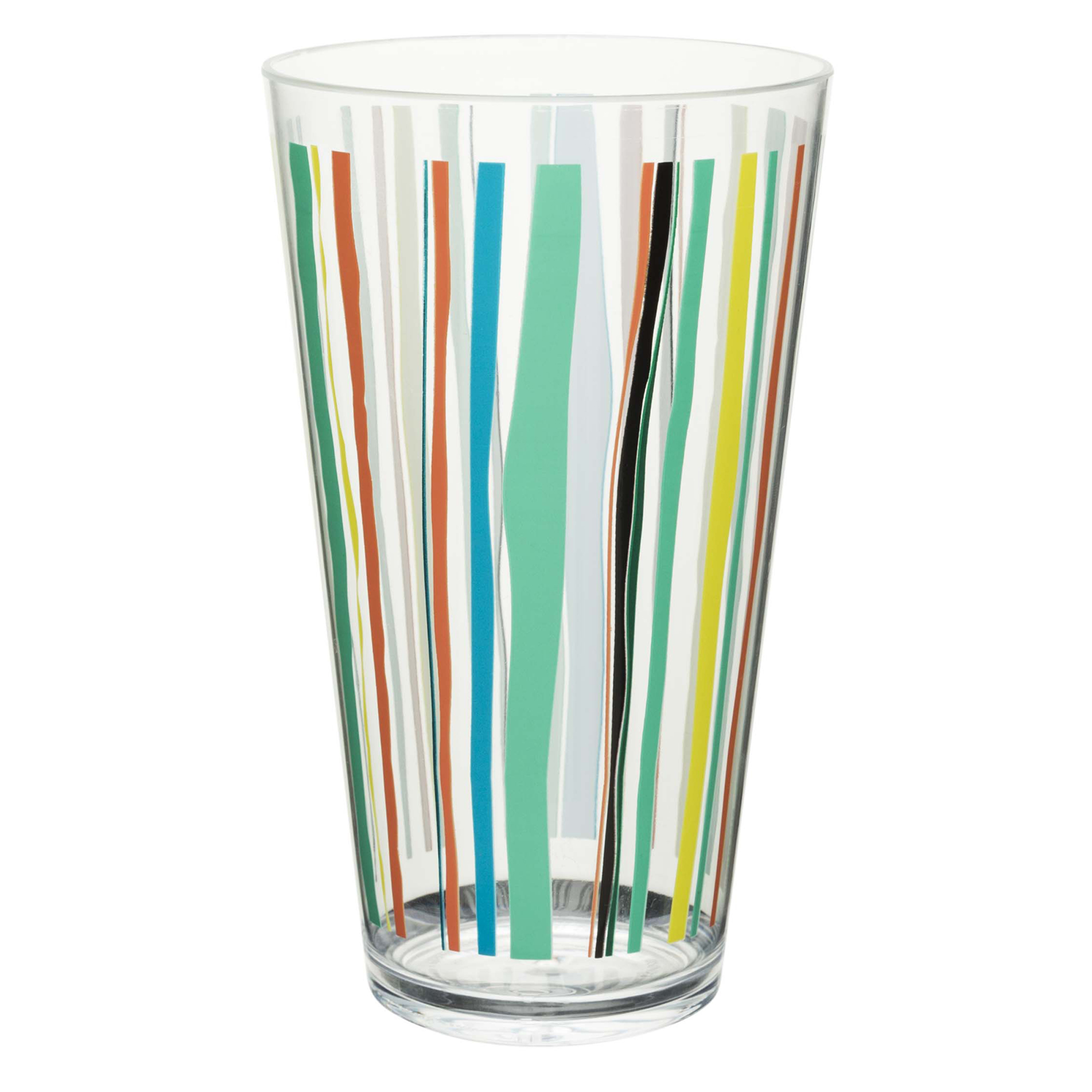 Zak! Designs 24 Ounce Just Life Highball Glass with Stand, 1 Each