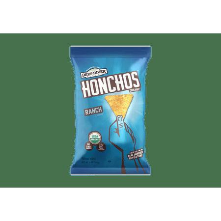 Ranch HONCHOS Organic Tortilla Chips, 5oz, 12 Ct