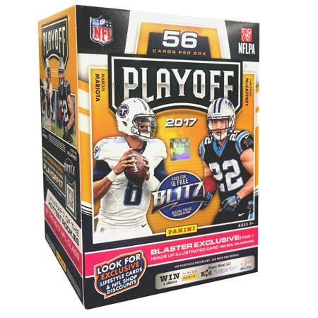 2017 Panini NFL Football Playoff Value Box Trading Cards