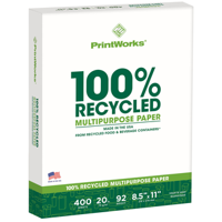 Printworks 100% Recycled Multipurpose Paper - Quantity of 6 - PT -  18