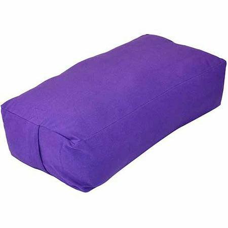 Yoga Direct Supportive Rectangular Cotton Yoga Bolster