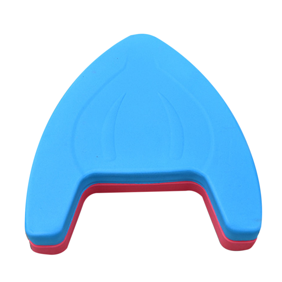 Swimming Floating Plate Kickboard A-shaped EVA Pool Training Board for Adult & Children Color Random by