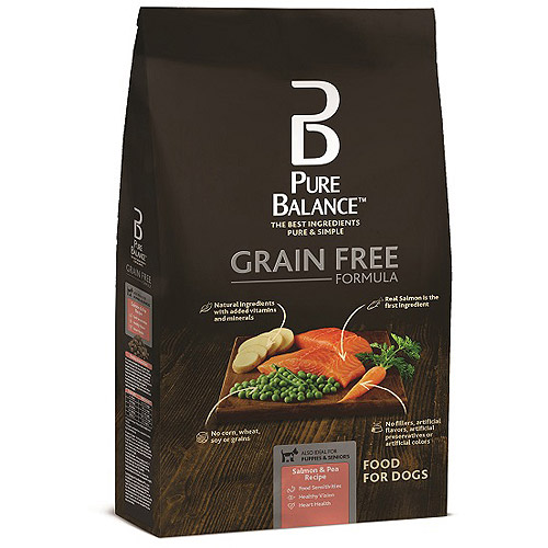 Pure Balance Grain Free Formula, Salmon & Pea Recipe, 24 lbs