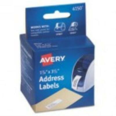 Avery Thermal Printer Labels, Address, 1 1/8 x 3 1/2, White, 260 Labels/Box Avery Thermal Printer