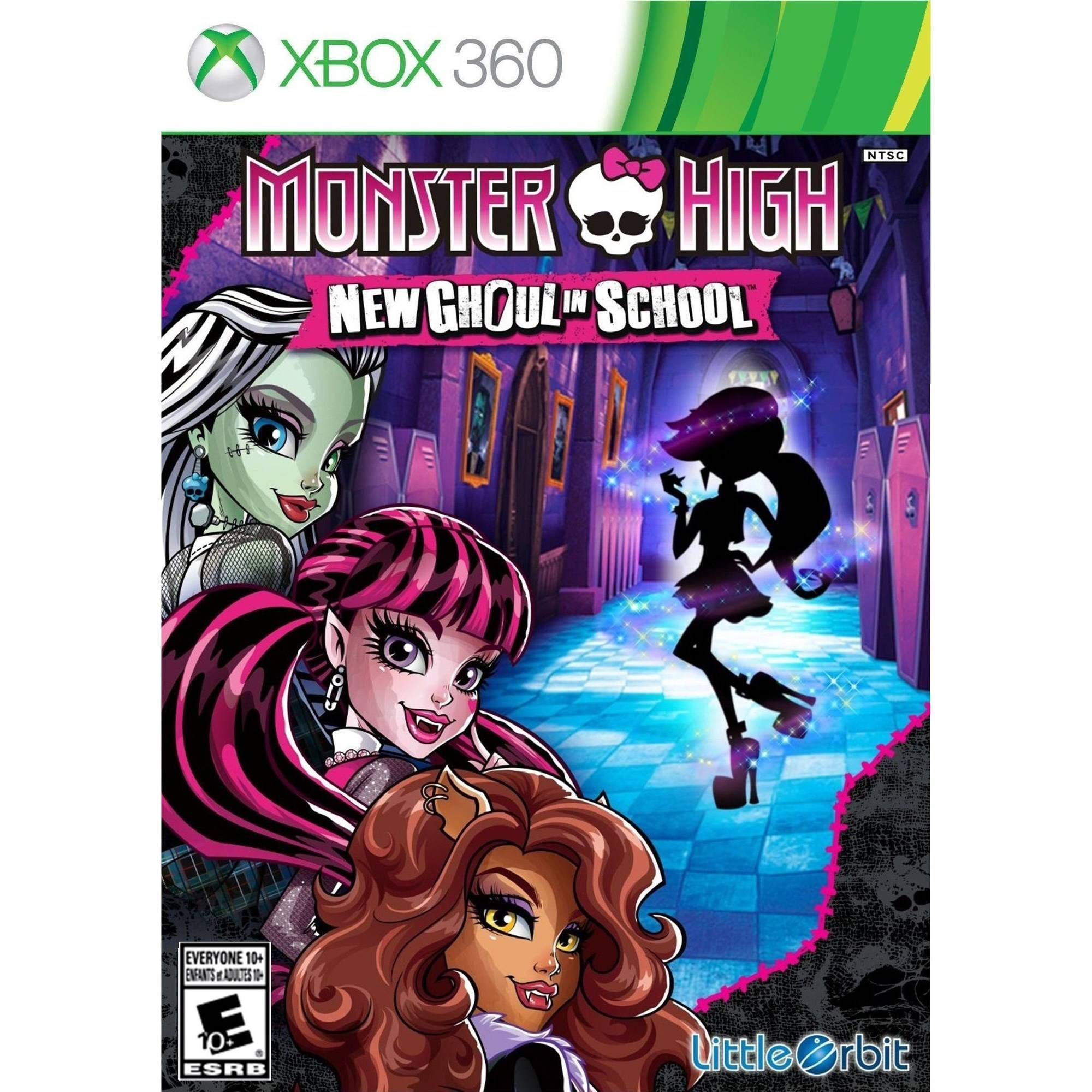 Monster High New Ghoul In School(Xbox 360)