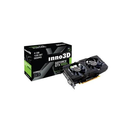 Inno3D GeForce GTX 1050 Ti Twinx Cooler 4GB PCI-E x16 3.0 GDDR5 Graphics Card (560 Ti Cooler)