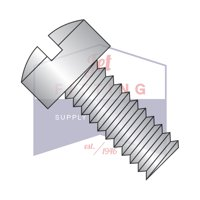 """0-80 x 1/8"""" Machine Screws   Slotted   Fillister Head   18-8 Stainless Steel (Quantity: 5000)"""