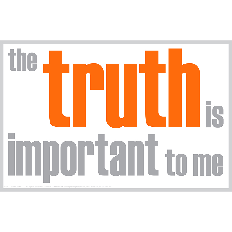 The Truth Is Important Poster - image 1 de 1