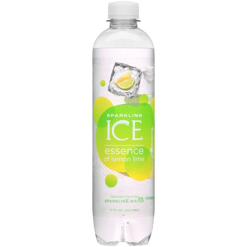 Sparkling Ice® Essence of Lemon Lime Sparkling Water, 17 Fl Oz Bottle