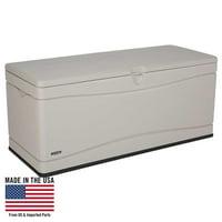 Lifetime 130 Gallon Heavy-Duty Deck Box, Tan