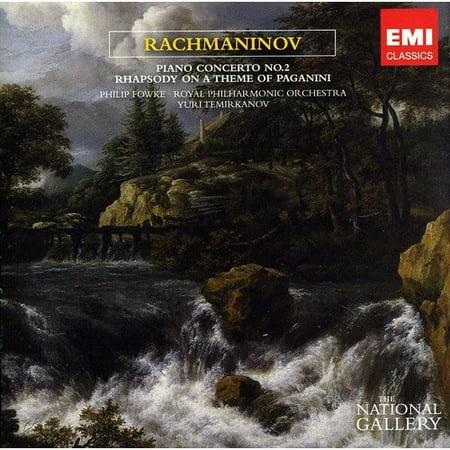 RACHMANINOV: PIANO CONCERTO NO. 2 IN C MINOR; PAGANINI RHAPSODY (THE NATIONAL GALLERY