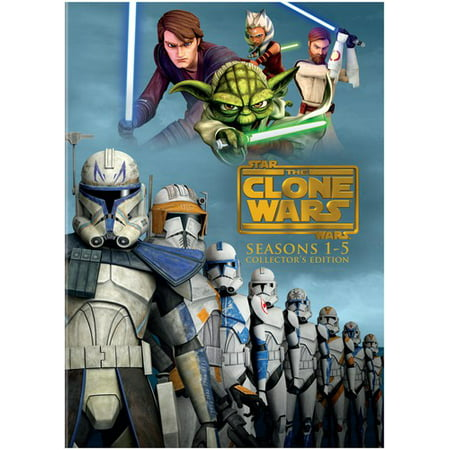 Star wars: the clone wars: seasons 1-5 collector's edition (dvd.