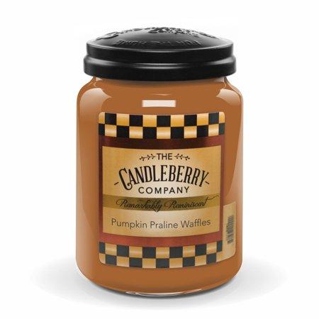Mini Waffle (Candleberry Pumpkin Praline Waffles 26 oz )