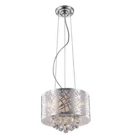 Elegant Lighting Prism 12   3 Light Royal Crystal Pendant Lamp