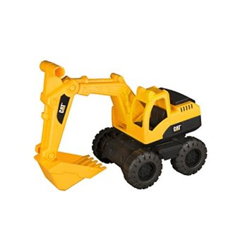 toy state caterpillar cat tough tracks construction crew excavator vehicle