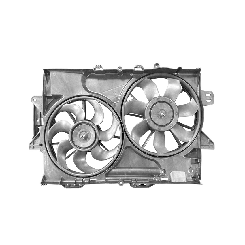 NEW DUAL RADIATOR AND CONDENSER FAN FITS CHEVROLET EQUINOX 2015-2017 22780241