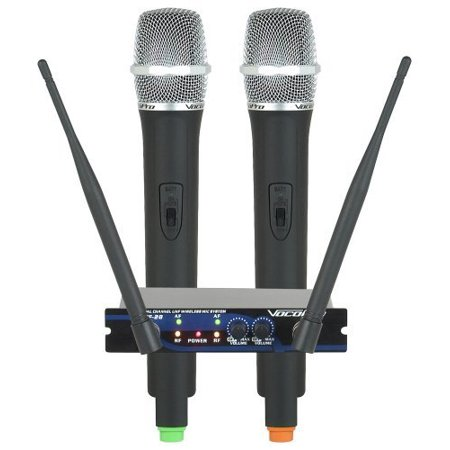Vocopro UHF28 2 Ch. Uhf Wireless Mic System