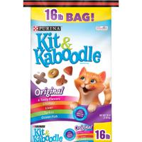 Purina Kit & Kaboodle Dry Cat Food Original 16 lb. Bag