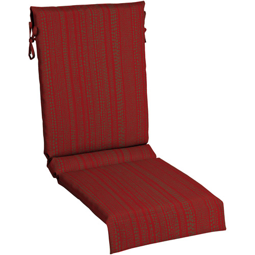 Mainstays Sling Chair Outdoor Cushion, Red Rush Reed Mimosa