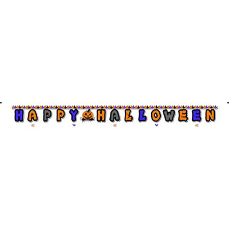 Huge 13 Ft - Happy Halloween Banner - Hue Halloween App