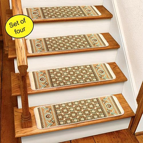 Ivory Rug Carpet Stair Treads Set Of 4 CST260I