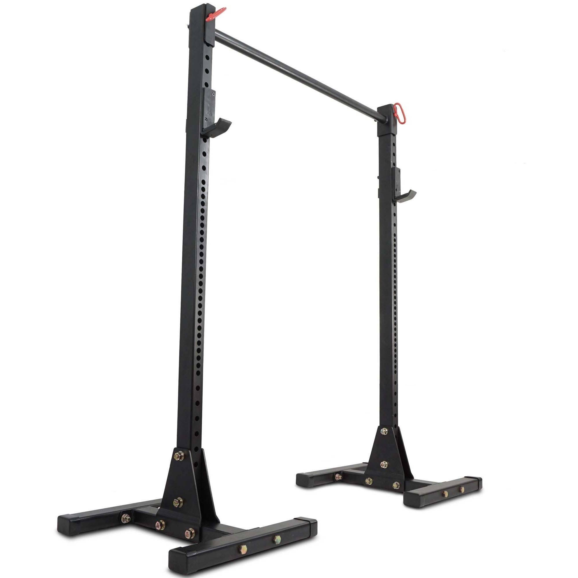 "Titan Squat Stand HD 1,000 lb Capacity Deadlift Lift Weight Rack, 2"" x 3"" Pull Up by Titan Fitness"