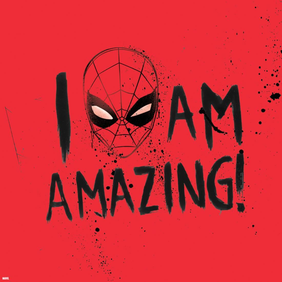 Marvels Spider-Man - I Am Amazing Print