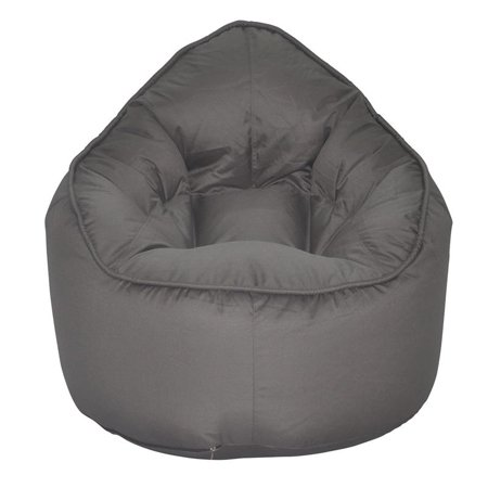 (Set of 2) Bean Bag Chair in Grey and Purple - image 4 of 7