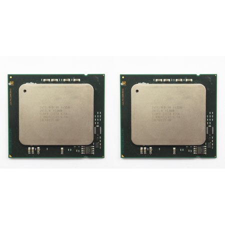 Pair of Intel Xeon X6550 2.0GHz SLBRB 18MB LGA1567 8-Core Server CPU Processor (Best Processor For Server 2019)
