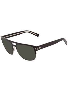 Dior Blacktie Green Round Men's Sunglasses BLACKTIE2.0S F AY857F2 57