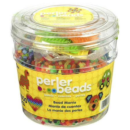 Perler Bead Bucket - 3 pegboards - 8500 - Halloween Perler Bead Projects