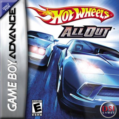 Hot Wheels All Out (GBA) (Pokemon Games For My Boy Gba Emulator)