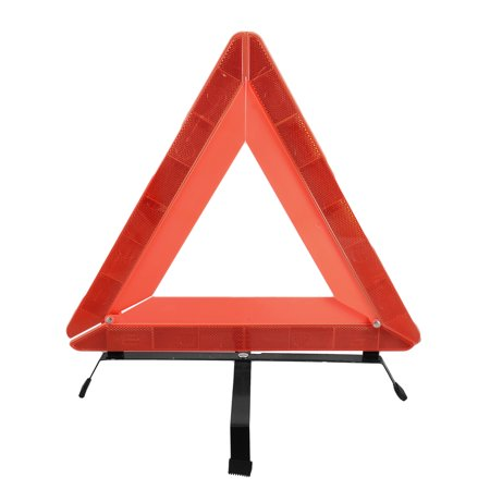 unique bargains roadway emergency folding sign warning triangle