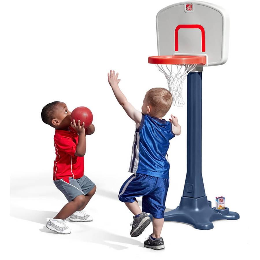 "Step2 Shootin' Hoops 42"" Basketball Set Includes one 6"" basketball"