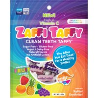 Zaffi Taffy Fruit Candy, 3 Oz
