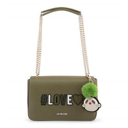 419e2863f42 Love Moschino JC4068PP16LK-0850-Green-NOSIZE 18 cm Womens Shoulder Bag, ...
