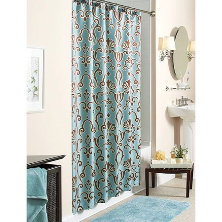 Better homes gardens sc pkdmsk b aqfer 72x72 Better homes and gardens shower curtains